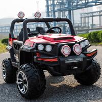 双人儿童电动汽车四轮四驱超大宝宝玩具越野车男女孩可坐人带遥控