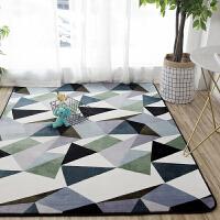 北欧风格网红大地毯满铺客厅茶几地垫可爱卧室房间床边垫定制T
