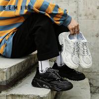 【3折价:227.7元,1.16-1.31过年不打烊!】Semir男士休闲运动鞋2019冬季新款时尚潮流休闲运动鞋男