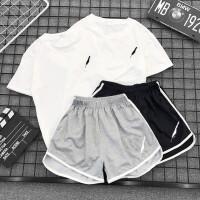 短裤套装女夏松学生休闲跑步运动服两件套