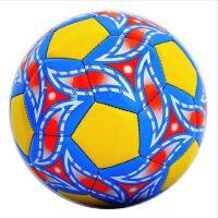 运动比赛3号三号儿童小学生游戏彩色足球PU材质