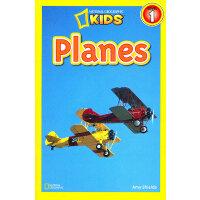 National Geographic Readers,Level 1: Planes 美国《国家地理》杂志-儿童科普