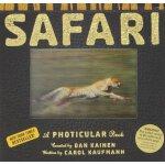 现货 英文原版 SAFARI-HC: A Photicular Book 狩猎3D立体儿童绘本