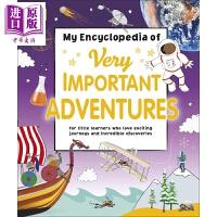 【中商原版】My Encyclopedia of Very Important Adventures DK小百科:大冒险