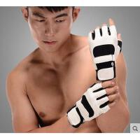 时尚百搭休闲舒适新款哑铃男士运动加长护腕手套