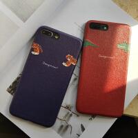 原创苹果7/8plus手机壳春季iphone6s鳄鱼保护套iphonexsmax浮雕xr