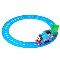 托马斯迷你小火车 儿童玩具电动小火车头迷你磁性回力汽车合金轨道车套装 +8款小火车