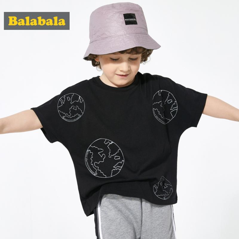 巴拉巴拉童装儿童t恤宝宝打底衫夏装新款男童短袖休闲百搭潮