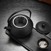 铁壶铸铁茶壶泡茶煮水壶功夫茶具铸铁泡茶烧水壶煮茶器电陶炉茶炉功夫茶具套装年会活动礼品套装