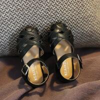 女童凉鞋鞋小公主鞋1-3岁7岁宝宝凉鞋软底中童鞋