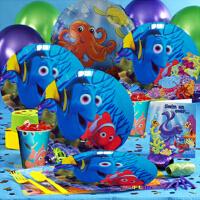 儿童生日派对聚会装饰布置用品道具气球海底总动员Nemo小丑鱼主题