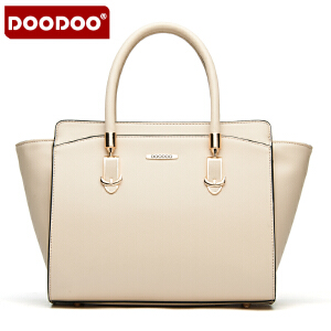 【支持礼品卡】DOODOO 2017新款包包时尚女包欧美风翅膀蝙蝠包单肩斜跨包女士大包包 D5006