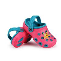 洞洞鞋 夏季新款儿童 洞洞鞋男女童涉水透气凉鞋沙滩防滑休 闲童鞋 沙滩凉鞋