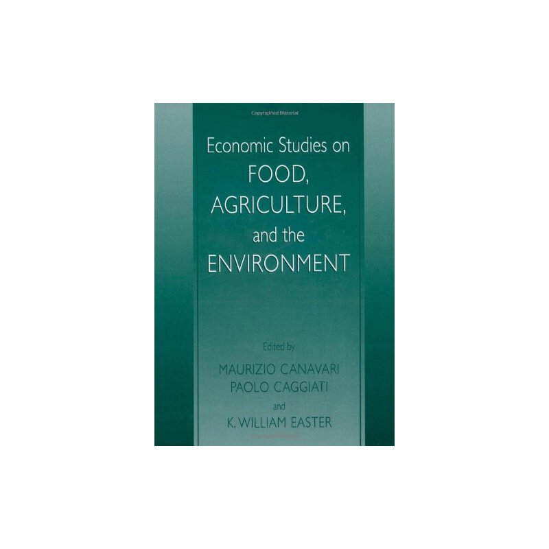 【预订】Economic Studies on Food, Agriculture, and the Environment 美国库房发货,通常付款后3-5周到货!