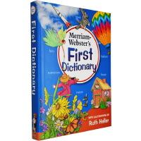 韦氏词典 英文原版 Merriam Webster's First Dictionary 初级儿童图片图解字词典 英文