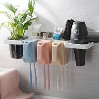 双庆牙刷置物架简约漱口杯牙刷杯情侣牙刷架洗漱套装双人牙杯壁挂