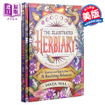 【中商原版】草本植物图鉴 英文原版 The Illustrated Herbiary Maia Toll Storey