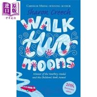 【中商原版】Walk two moons 纽伯瑞:印第安人的麂皮靴 纽伯瑞金奖 获奖童书儿童故事小说文学 平装 英文原版