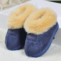 宝宝棉鞋加绒加厚小童棉拖鞋1岁2岁3岁幼儿保暧居家拖鞋冬季男童