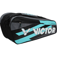 威克多VICTOR BR6210羽毛球包俱乐部款12支装单肩羽拍包 羽网包