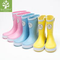 儿童雨鞋男童雨靴防滑学生专用水鞋女童公主宝宝四季通用