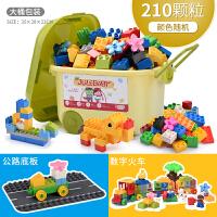 森宝兼容乐高积木男孩子3-6周岁大颗粒拼装玩具儿童女孩1-2岁启蒙