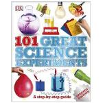 101 Great Science Experiments 英文原版101个伟大的科学实验 青少年课外练习