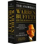 英文原版 The Snowball 滚雪球 巴菲特和他的财富人生 Warren Buffett 沃伦巴菲特 财经类人物