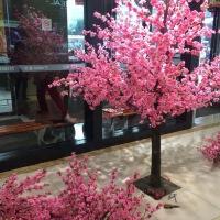 仿真樱花树桃花树 樱花单只樱花商城酒店橱窗大型假婚庆