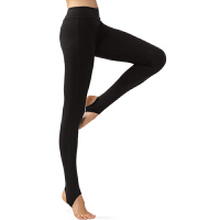 浩沙瑜伽服瑜伽长裤踩脚裤修身显瘦弹力紧身裤跳操跑步健身运动裤