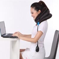 颈椎牵引器家用护颈颈椎牵引器 双绒旅行充气式颈椎颈部治疗