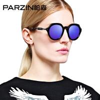 帕森新款大框偏光太阳镜 潮女士圆脸驾驶镜 司机开车墨镜9505