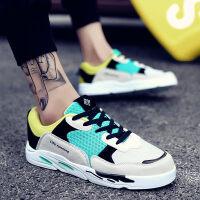 英伦布鞋2018新款板鞋潮鞋鞋子男韩版潮流休闲百搭秋季学生帆布鞋