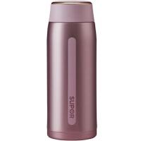 【新店入驻包邮】苏泊尔轻量保温杯 新款AIR一键开合 304钢400ML 桃粉色 KC40CQ20
