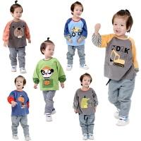 儿童罩衣宝宝灯芯绒防水反穿衣小孩子幼儿园吃饭衣防脏罩衫