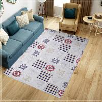 新款印花北欧地毯客厅沙发茶几地垫简约现代家用卧室满铺可爱床边k