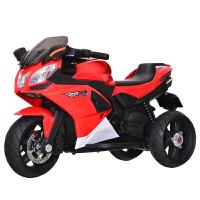 儿童电动摩托车三轮车1-3-6-8岁大号可充电男女小孩玩具车可坐人ZQ139 充气轮胎