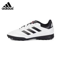 阿迪达斯新款男中大童碎钉防滑运动足球鞋AQ4305白/红荧光/一号黑 1/33码