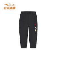 【3折价59.7】安踏童装男小童针织长裤儿童运动裤休闲裤35919745