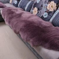 整张羊皮羊毛地毯羊毛沙发垫欧式椅子垫卧室客厅飘窗垫毯子T