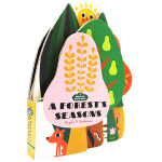 英文原版 异形纸板书 0 3岁 Bookscape Board Books A Forest's Seasons 森林