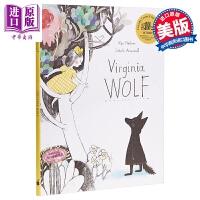 【中商原版】Isabelle Arsenault:VIRGINIA WOLF 小狼维珍尼 精品绘本 儿童亲子故事绘本 精