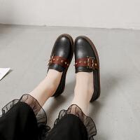 平底鞋女单鞋晚晚鞋百搭软底仙女韩版学生复古2019新款网红女款鞋