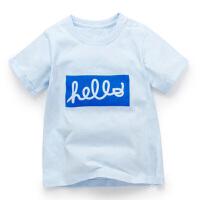加菲宝贝 GAFFEY KITTY 新款夏季男童小童宝宝短袖t恤GKA3016