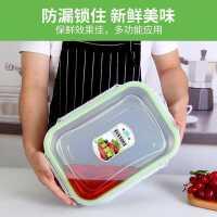 保�r盒不�P�密封便��大容量���w�L方形�N房食物盒子�ξ�304�盒