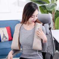 颈椎按摩器多功能披肩捶打颈部腰部肩部敲打脖子颈肩家用按摩仪器