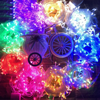 LED彩灯闪灯户外防水满天星婚庆装饰灯圣诞节酒吧铜线小彩灯串灯