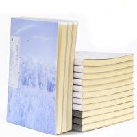 叶品 B5胶套本100页(图案随机)笔记本 加厚记事本 日记本子 当当自营