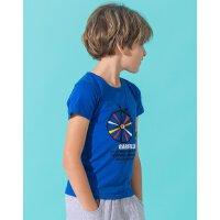 【专区59元3件】加菲猫童装男童2018新款夏装儿童短袖中大童T恤GTW17204