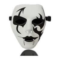 面具男鬼面具恐怖创意玩具V字仇杀者队面具死神鬼舞假面恐怖手绘男女道具 万圣节面具